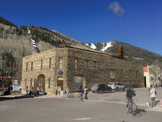 LTL Architects' Timber Intervention Wins Competition for Telluride Arts Center in Colorado