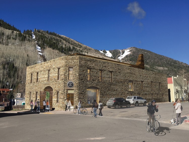 LTL Architects' Timber Intervention Wins Competition for Telluride Arts Center in Colorado, Courtesy of Telluride Arts
