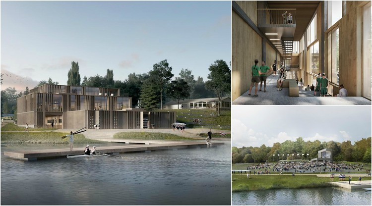 Diversity of Use and Landscape Defines Denmark's New Rowing Stadium , Courtesy of AART architects