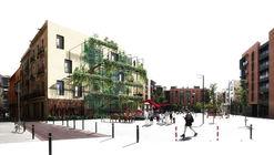 OPUS, segundo lugar en concurso de intervención sobre paredes medianeras en Barcelona