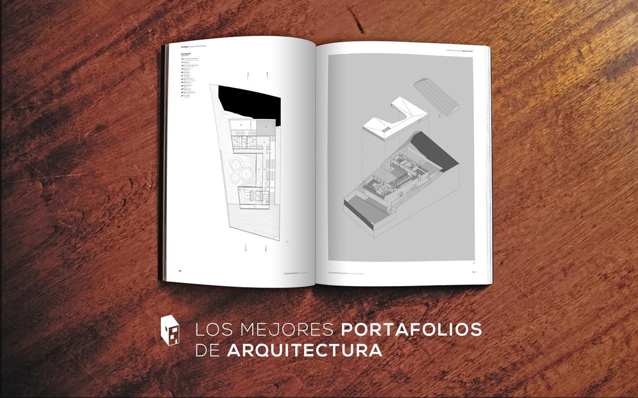 Los mejores diseños de portafolios de Arquitectura | Plataforma ...