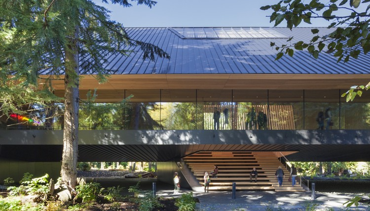 Audain Art Museum  / Patkau Architects, © James Dow / Patkau Architects