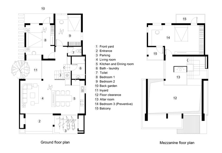 Mezzanine / Ground Floor Plan