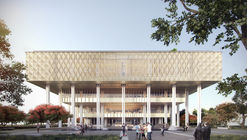 Mecanoo and MAYU Architects+ Break Ground on Tainan Public Library