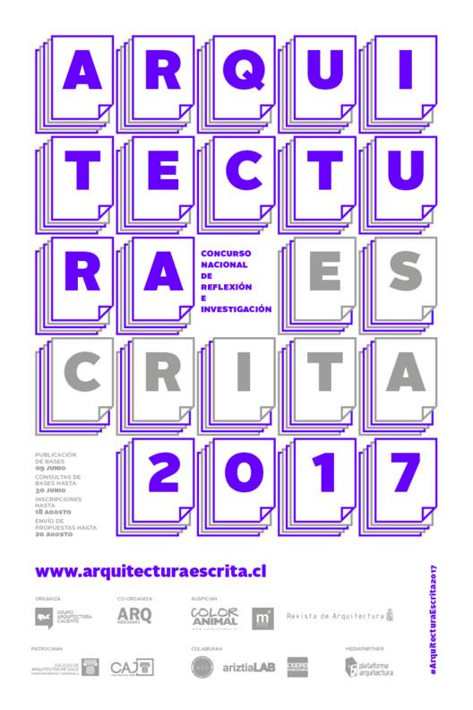 Concurso Nacional de Reflexión e Investigación, Arquitectura Escrita 2017, Grupo Arquitectura Caliente