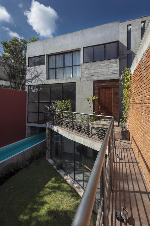 Casa Risco / Estefanía Barrios y Silvana Barrios, © Luis Gordoa