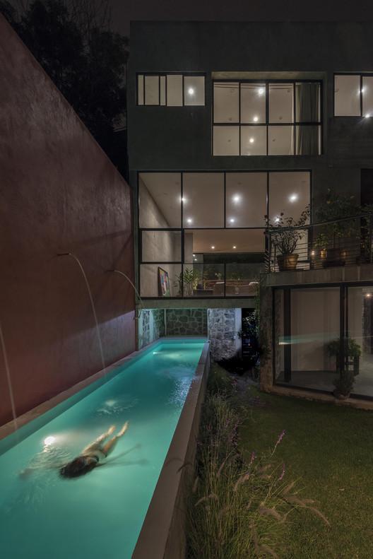 Casa Risco / Estefanía Barrios & Silvana Barrios, © Luis Gordoa