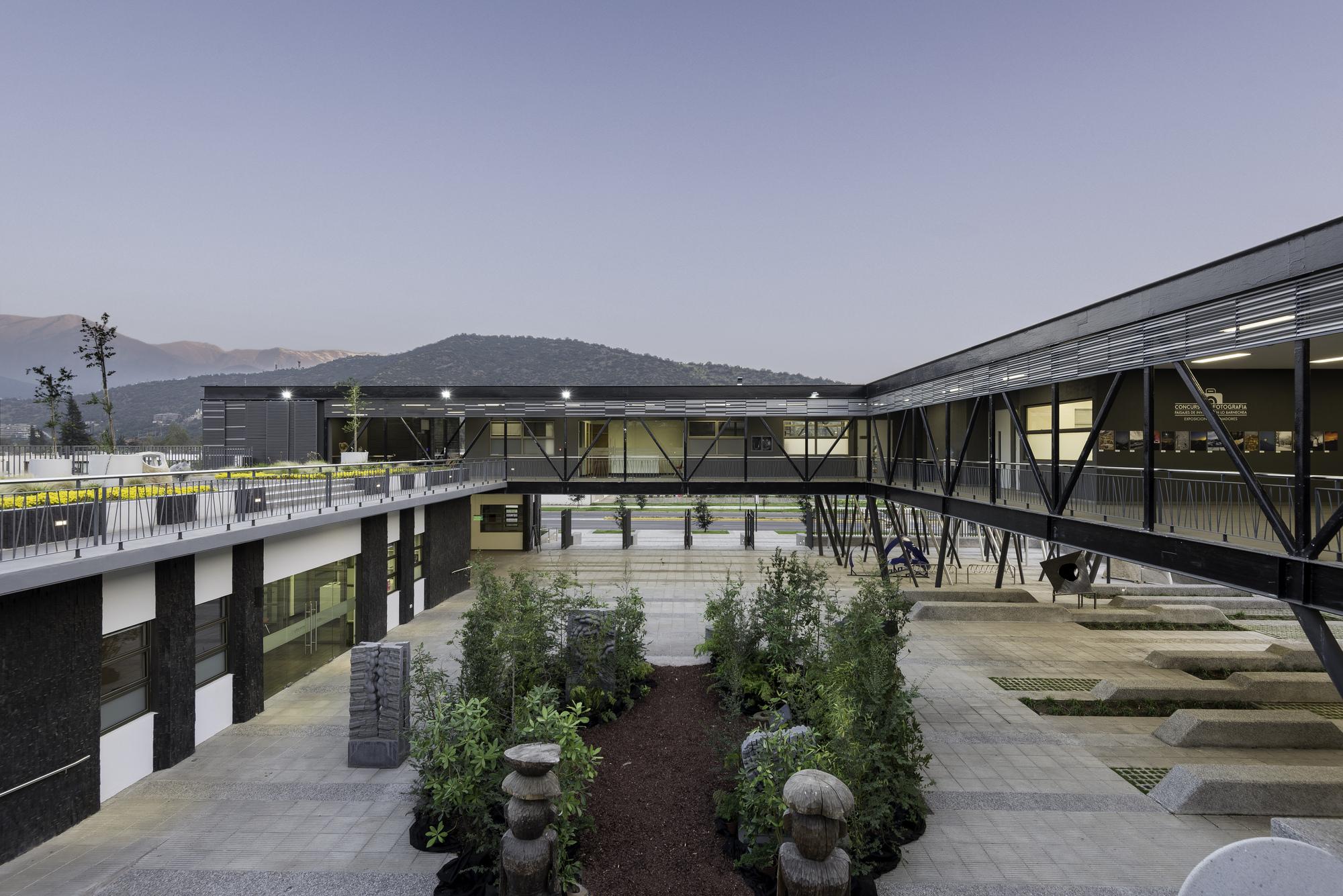 Centro cultural el tranque bis arquitectos plataforma for Arquitectura de proyectos
