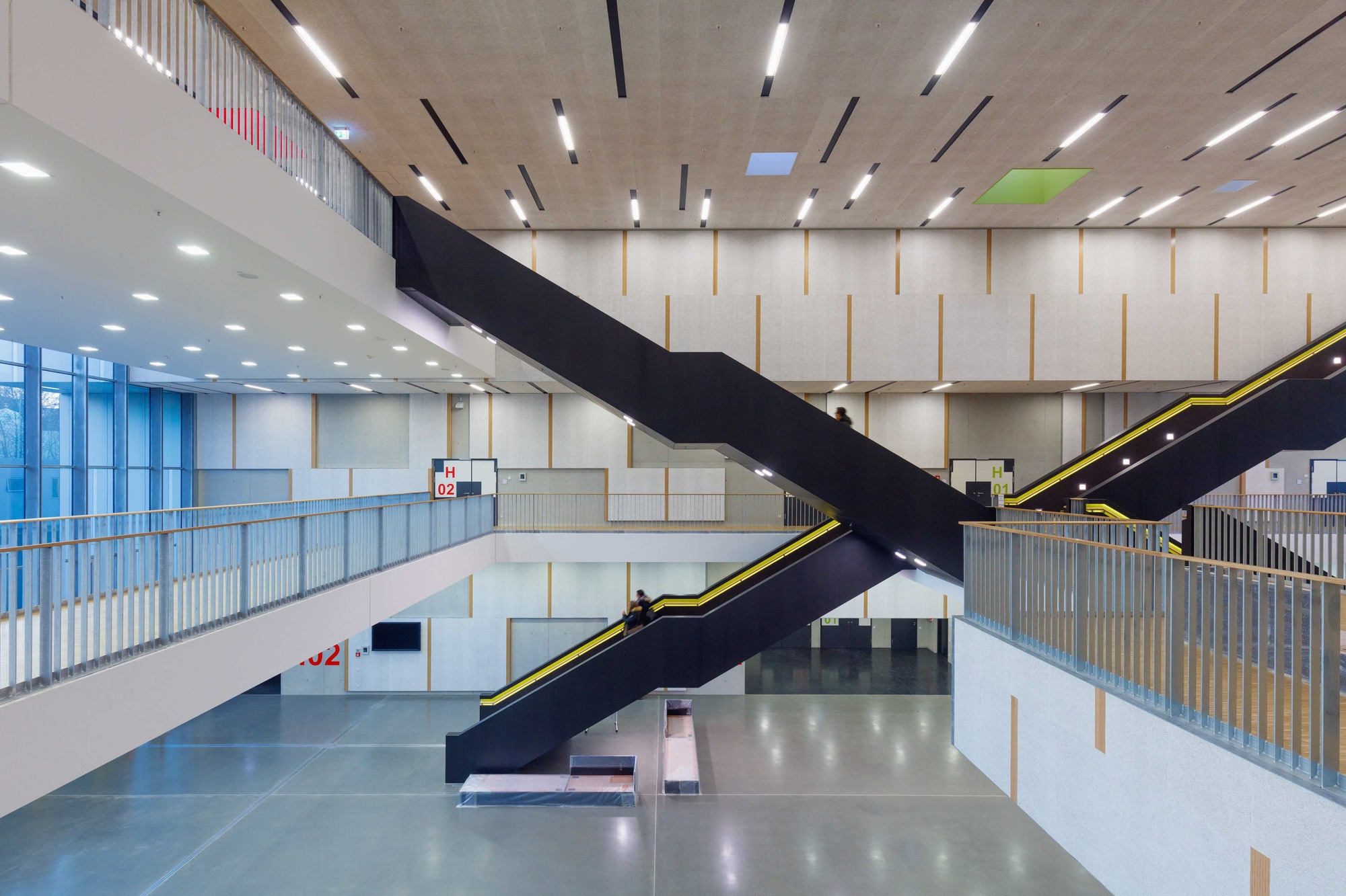 gallery of c a r l auditorium at rwth aachen university schmidt hammer lassen architects