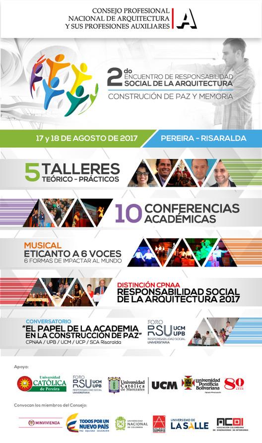 II Encuentro de Responsabilidad Social de la Arquitectura 2017, Consejo Profesional Nacional de Arquitectura y sus Profesiones Auxiliares