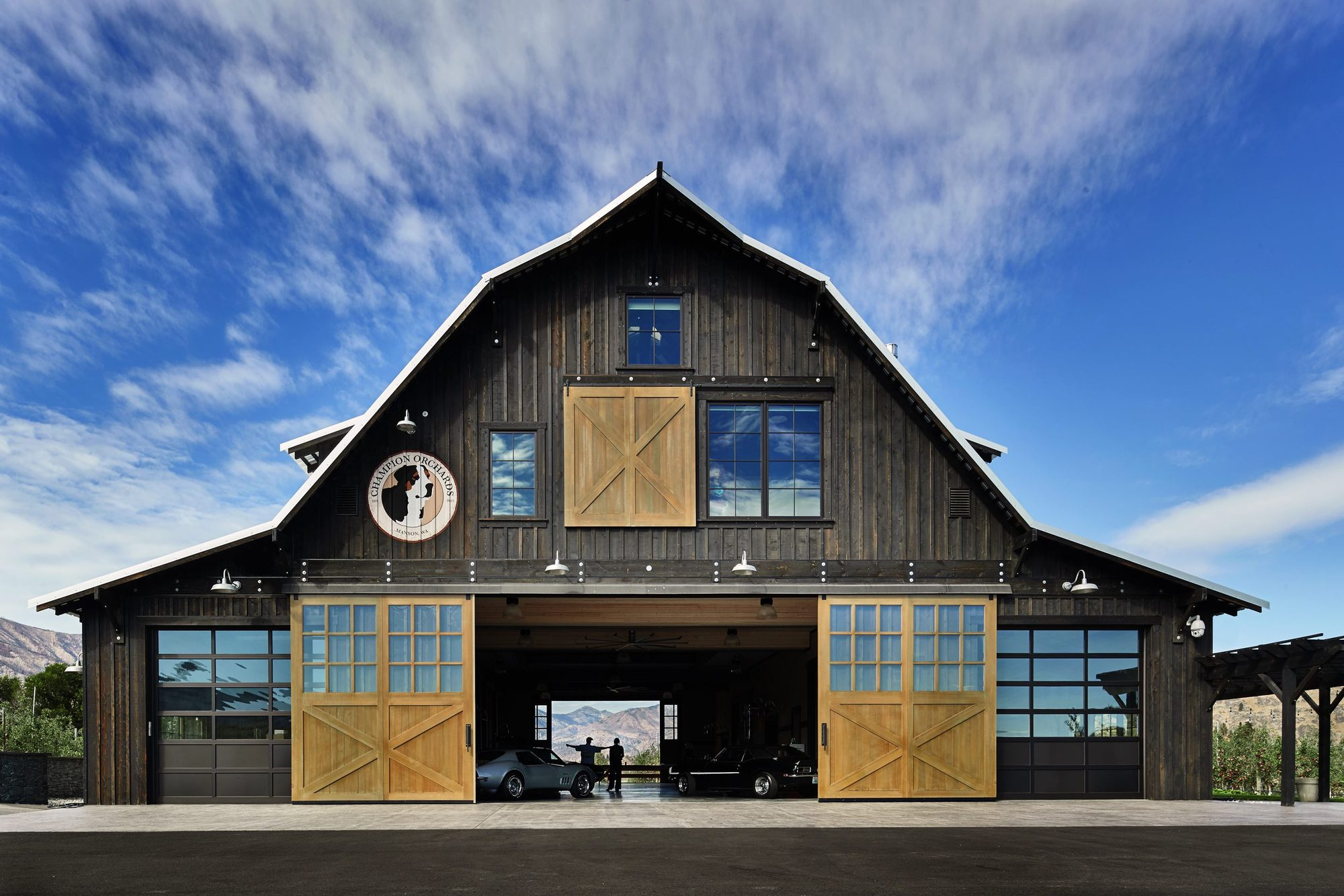 Manson Barn Skb Architects Archdaily