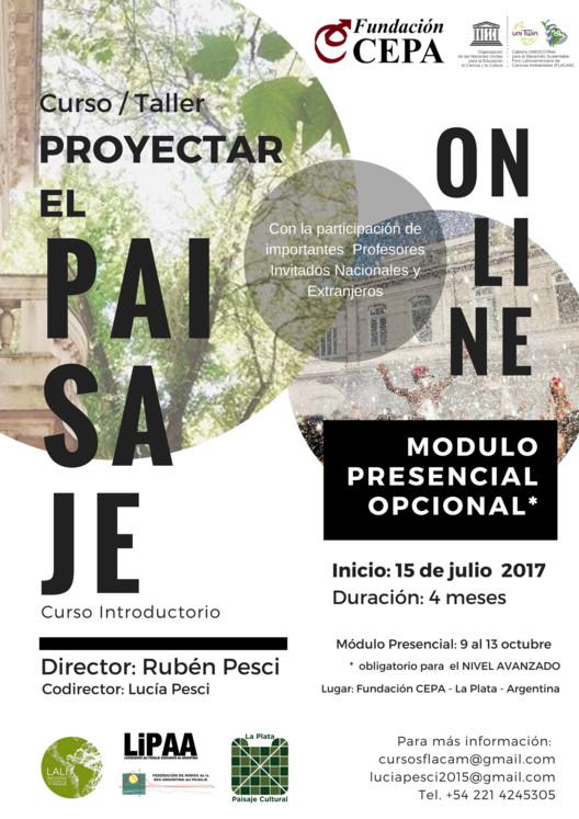 Curso-Taller 'Proyectar el Paisaje' | Modalidad Online