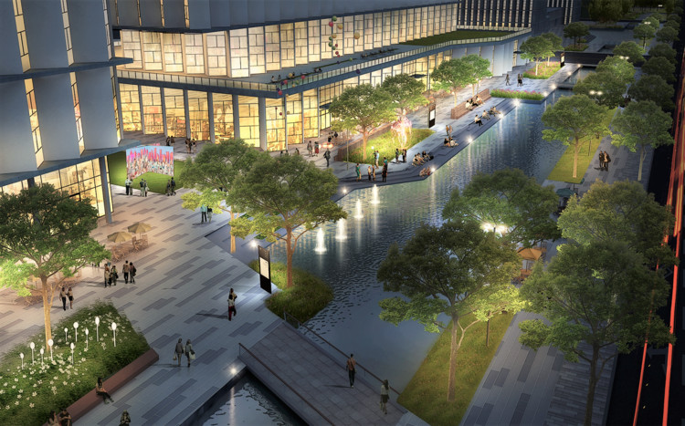 Cityförster to Lead Design of New Beijing Government District, Courtesy of Cityförster