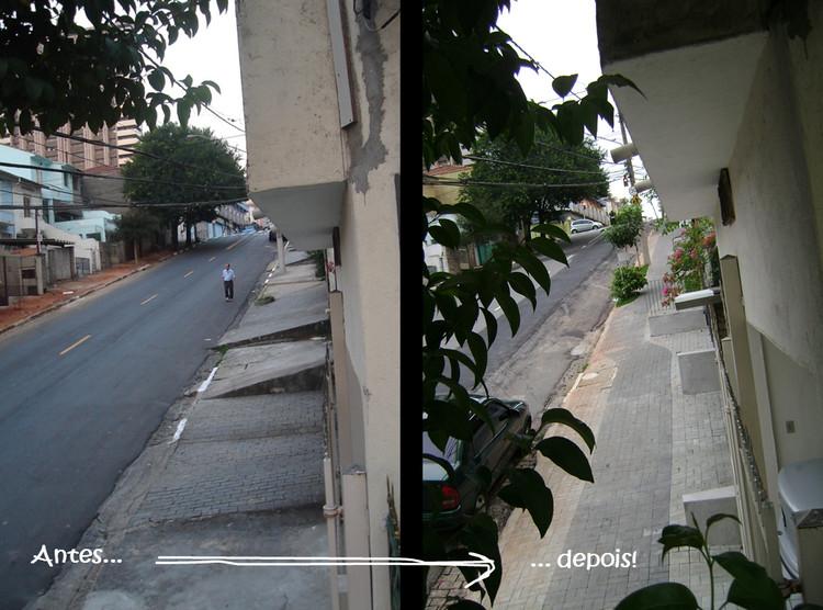 Projeto Calçadas Verdes e Acessíveis. Vencedor do Prêmio Mobilidade Minuto da IVM Cidade em Movimento. Foto: Gilmar Altamirano. Image Cortesia de TheCityFix Brasil
