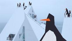 Ve cómo 'The Iceberg' se convierte en un paraíso para los pingüinos en esta animación