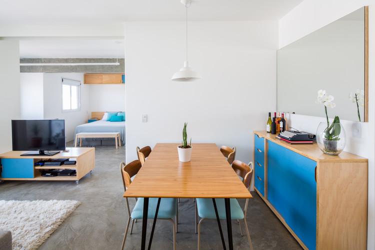 Apartamento Celso Ramos / MARCOZERO Estudio, © Pedro Napolitano Prata
