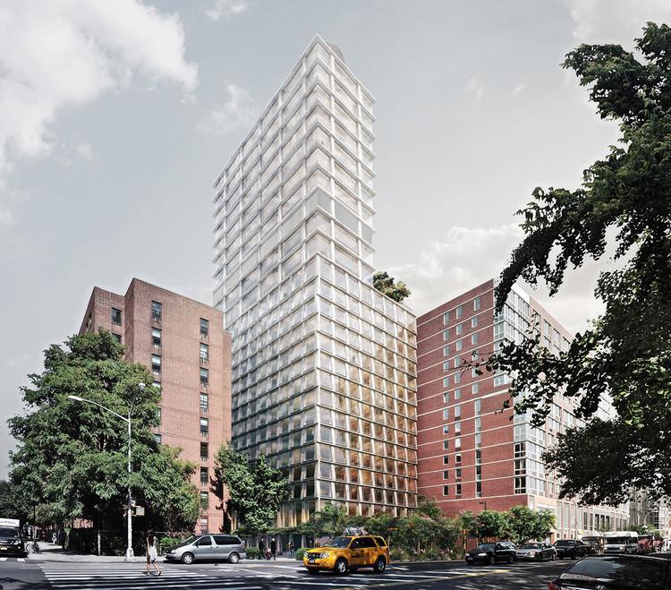Herzog & de Meuron divulga imagens de seu novo hotel em Manhattan, Cortesia de Ian Schrager Company