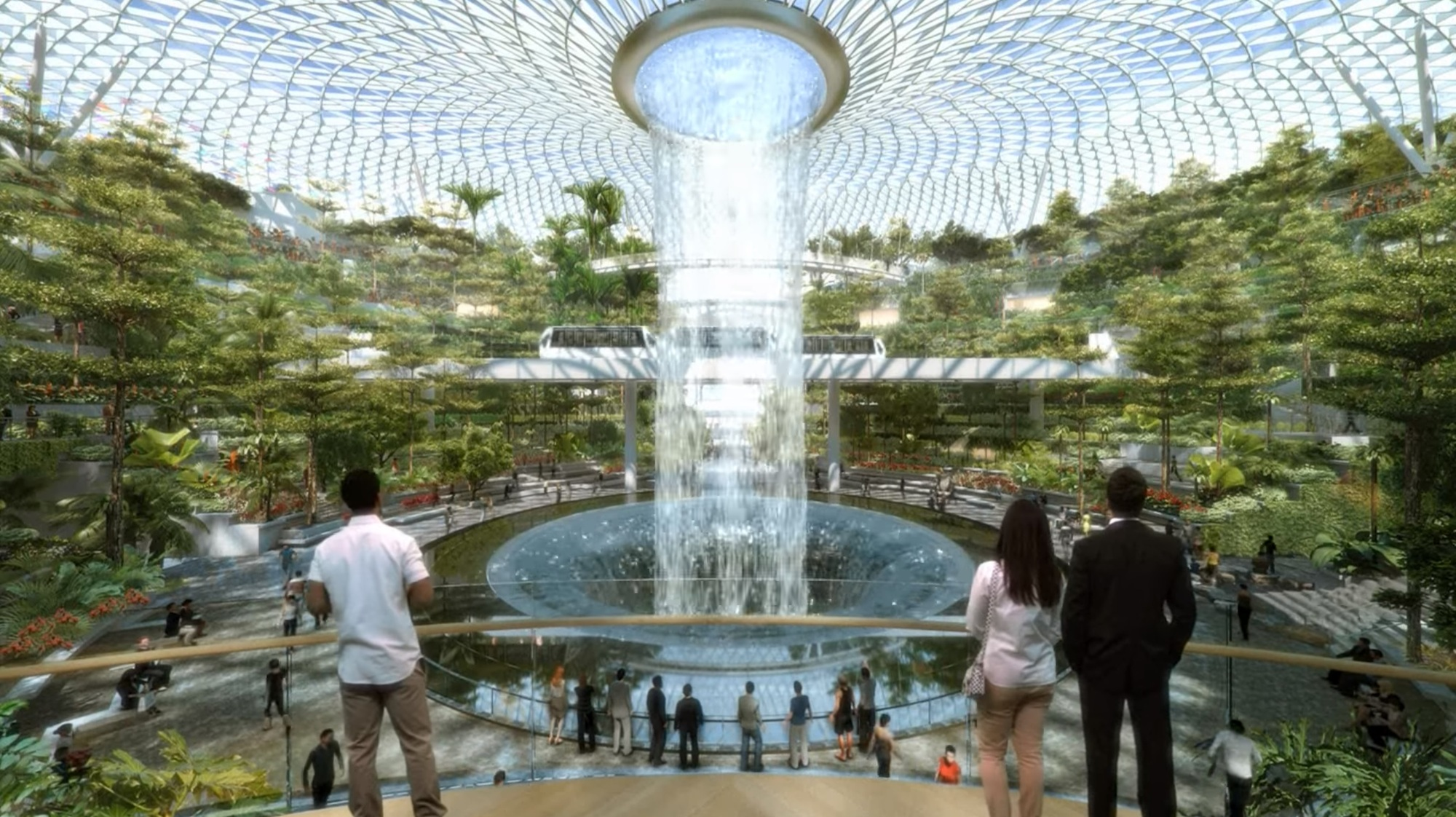 Safdie Architects Changi Airport Will Host World S