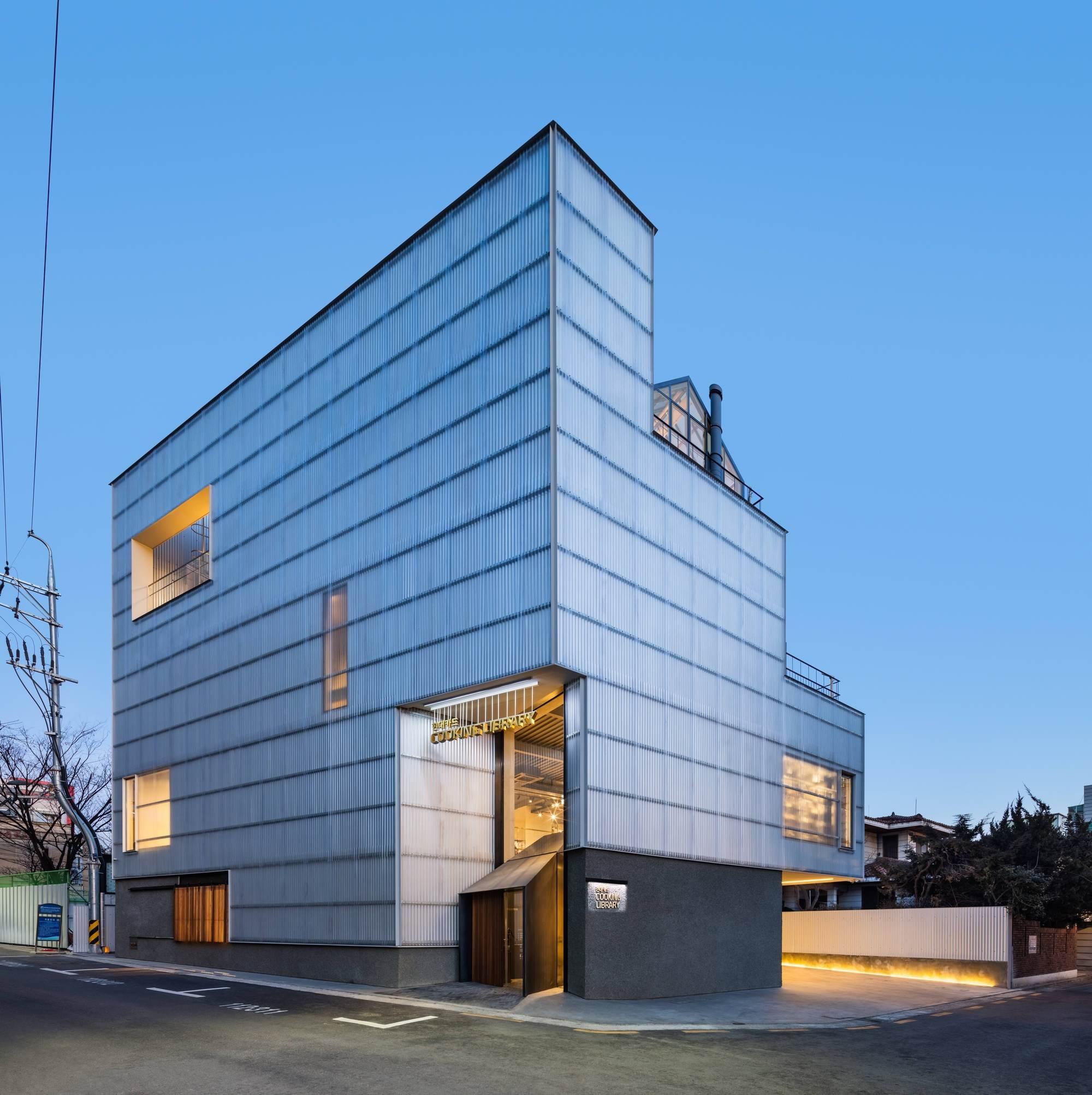Hyundai Card - Cooking Library / Blacksheep + One O One Architects ...