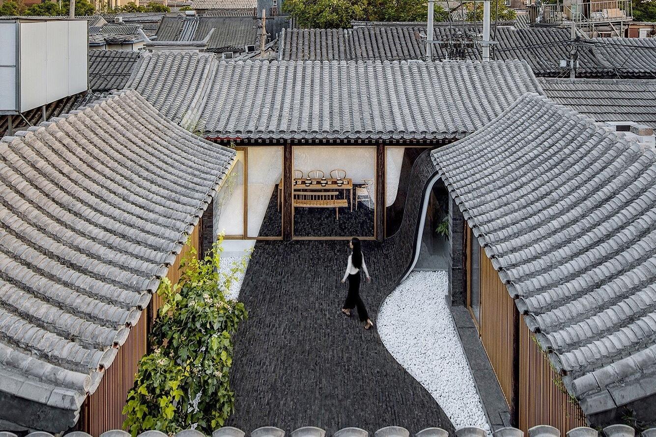 Twisting Courtyard Archstudio Archdaily