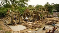 Arquitectos mexicanos construyen vivienda resistente a inundaciones y centro comunitario en India