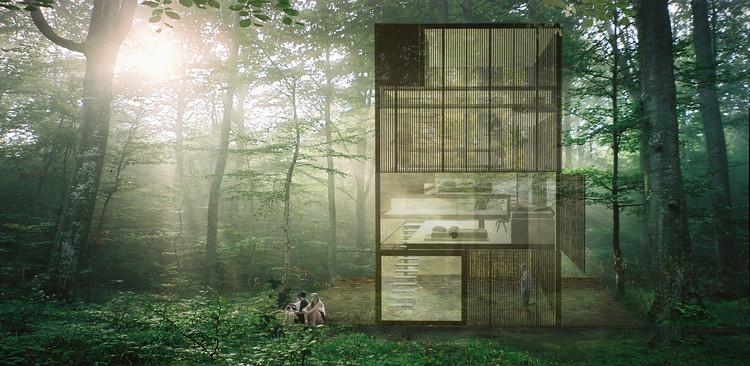 'Ten Stories' House', el prototipo de RICA Studio para Experimenta Urbana, Cortesía de Experimenta Urbana