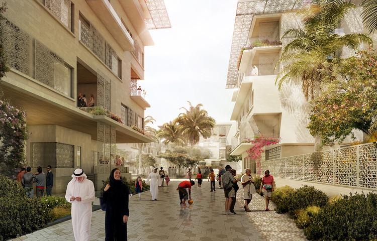 CBT Unveils Community-Oriented Phase 2 Masterplan for Masdar City, Masdar City Phase 2. Image Courtesy of CBT