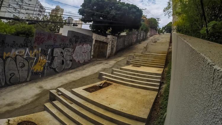 Isay Weinfeld e Idea!Zarvos recuperam via de pedestres na Vila Madalena, Cortesia de Idea!Zarvos