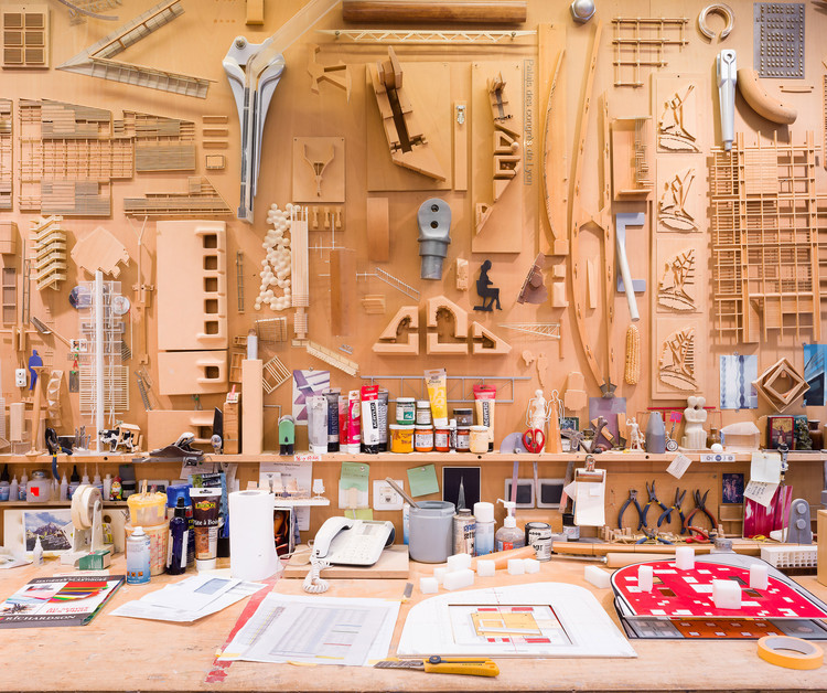 ¿Cómo es trabajar en una oficina de arquitectura en París? Marc Goodwin y Mathieu Fiol registran estas 16, Renzo Piano Building Workshop (RPBW). Image © Marc Goodwin