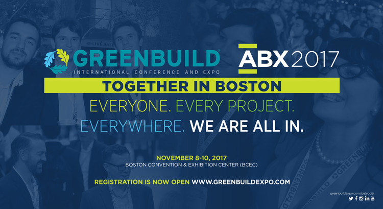 Greenbuild International Conference and Expo, Register Today