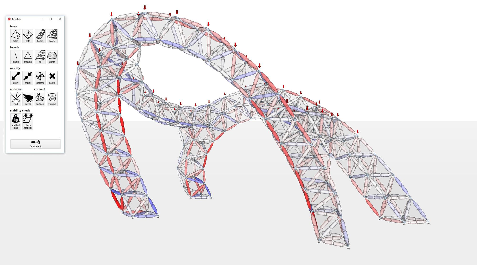 Galeria de plugin do sketchup para projetar estruturas de for Mobilia para sketchup 8