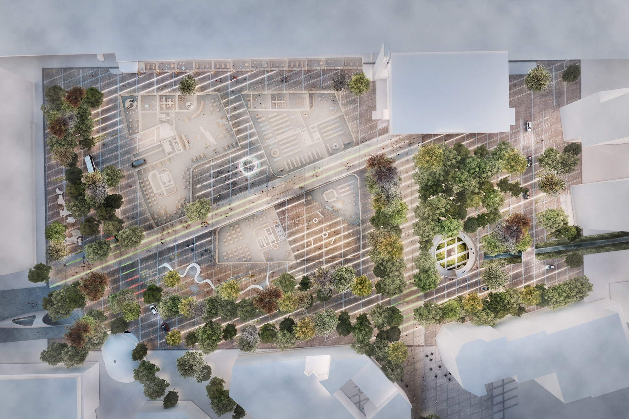 Gallery Of Powerhouse Wins Competition To Build New Urban Plaza In Eindhoven 3