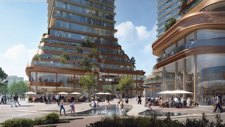 Powerhouse Wins Competition to Build New Urban Plaza in Eindhoven, © Powerhouse Company