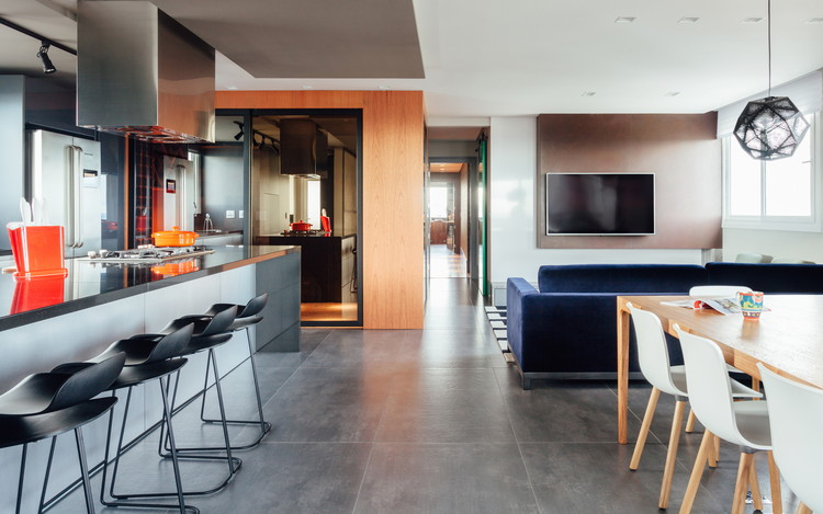 Apartamento GZT / Leonardo Ciotta Arquitetura, © Cristiano Bauce