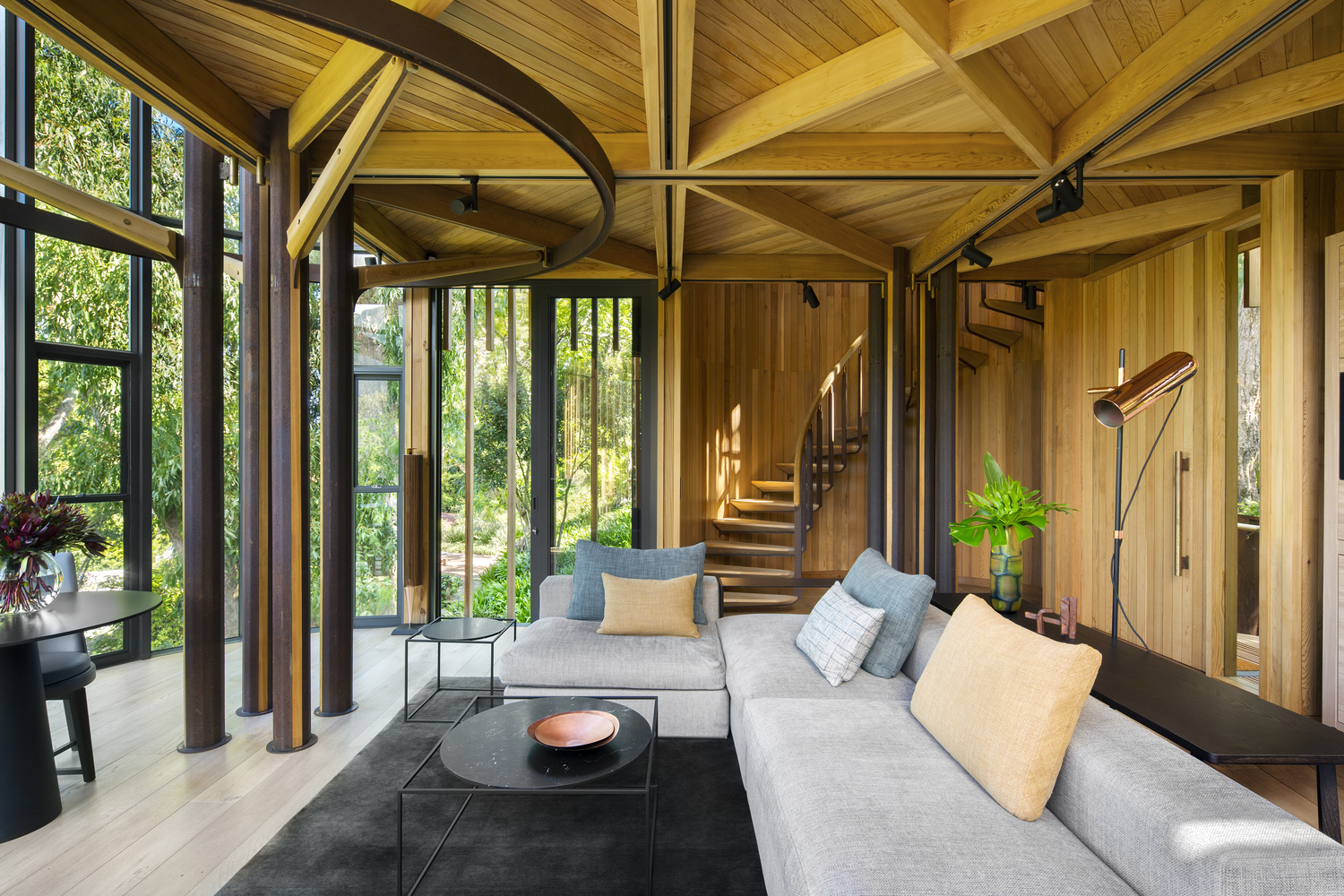 Gallery of Tree House / Malan Vorster Architecture Interior Design on office slides, wood slides, easter slides, tree houses for adults, roller bearing slides, park slides, tree themed playgrounds, tree houses for girls,