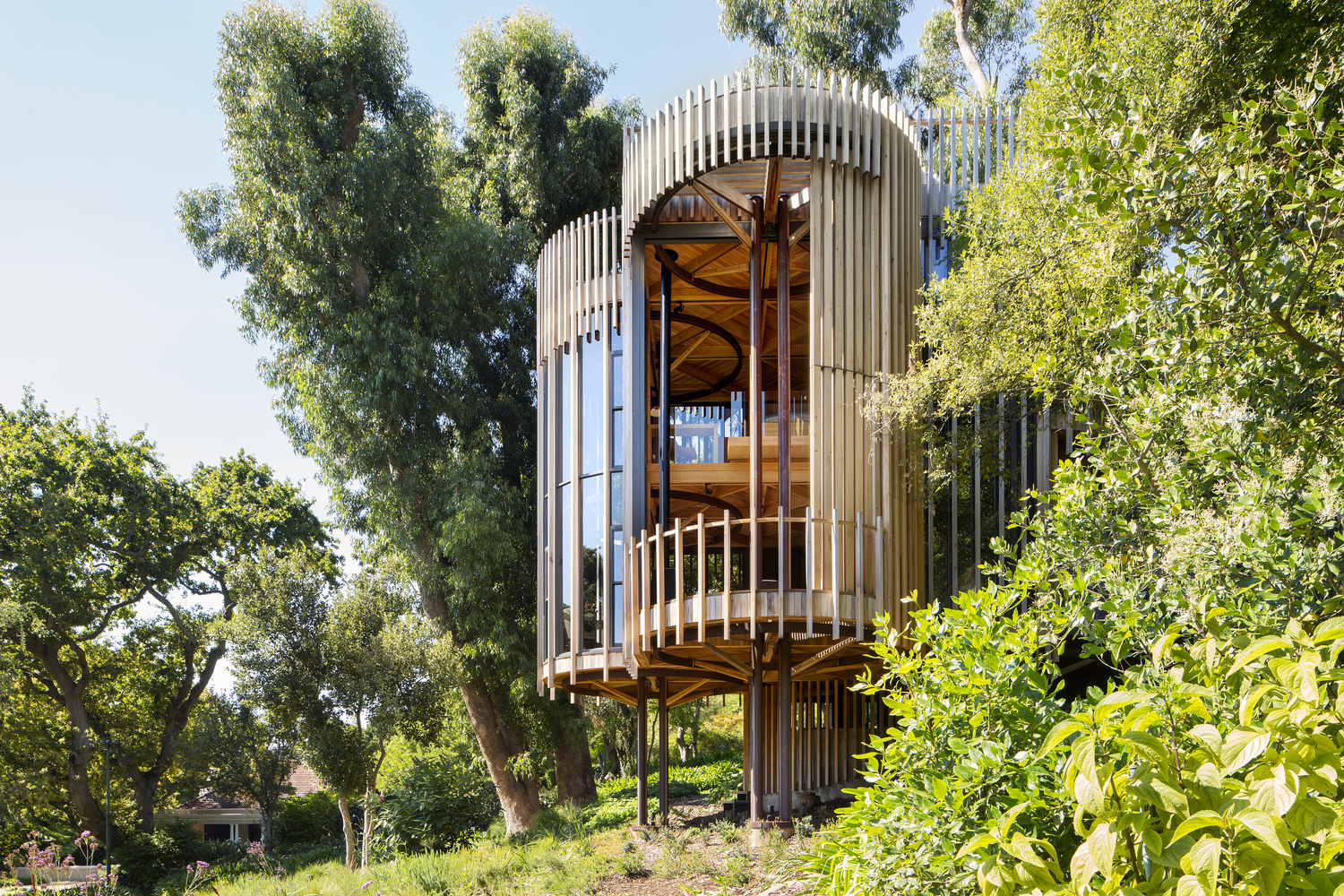 Tree House / Malan Vorster Architecture Interior Design | Building on office slides, wood slides, easter slides, tree houses for adults, roller bearing slides, park slides, tree themed playgrounds, tree houses for girls,