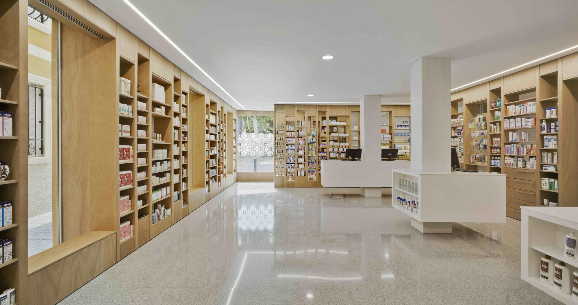Dise O Y Arquitectura De Farmacia Plataforma Arquitectura # Muebles Farmacia