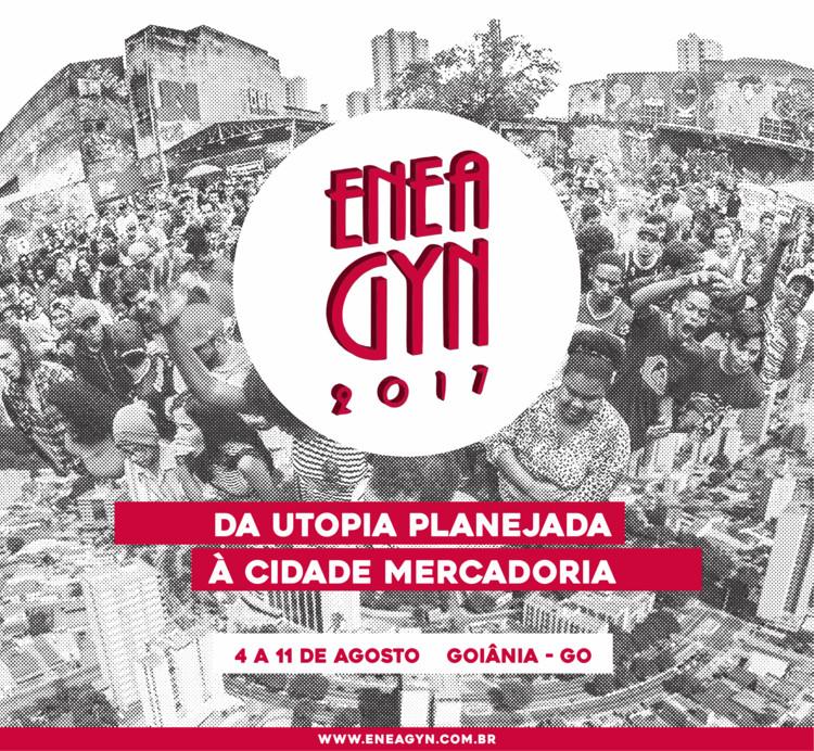 ENEA GOIÂNIA - XLI Encontro Nacional de Estudantes de Arquitetura e Urbanismo, Arte de divulgação feita pela Comissão Organizadora do ENEA