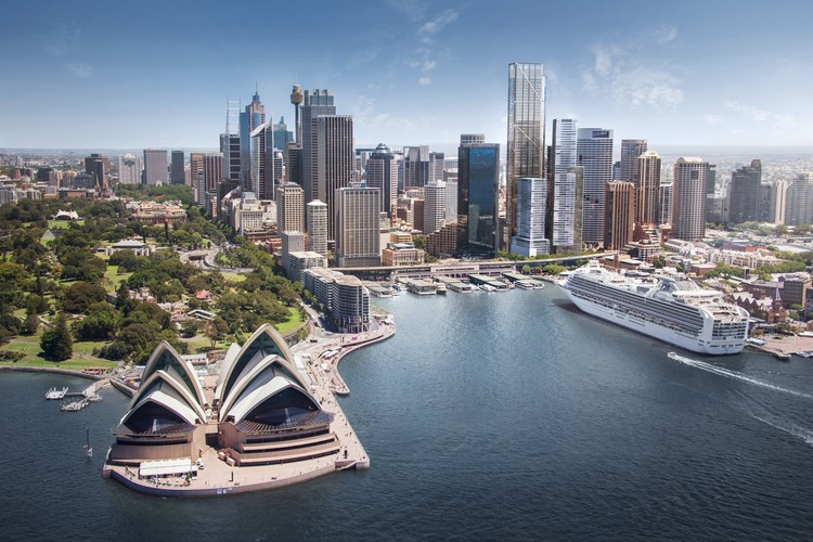 Foster + Partners Wins Competition for Landmark Tower in Sydney's Circular Quay, © Foster + Partners