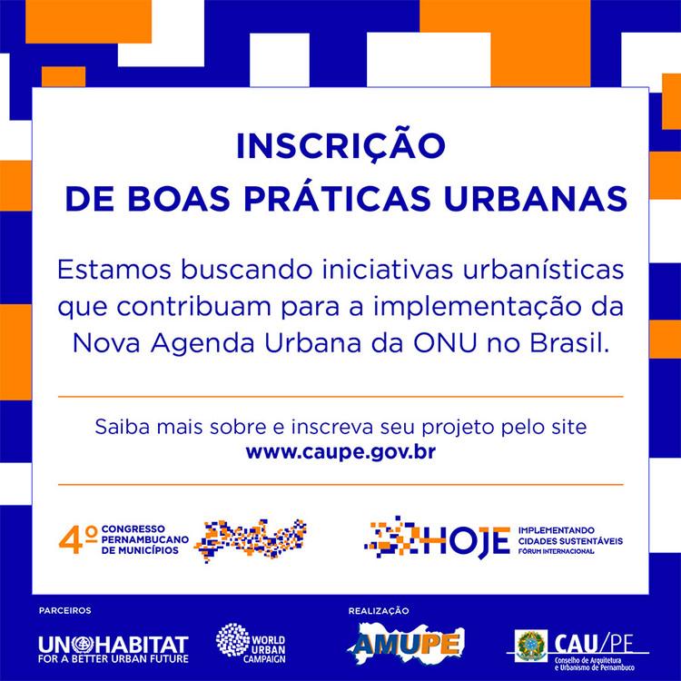 Inscrições de iniciativas - Fórum Internacional HOJE Implementando Cidades Sustentáveis, Conselho abre convocatória para selecionar iniciativas por cidades sustentáveis