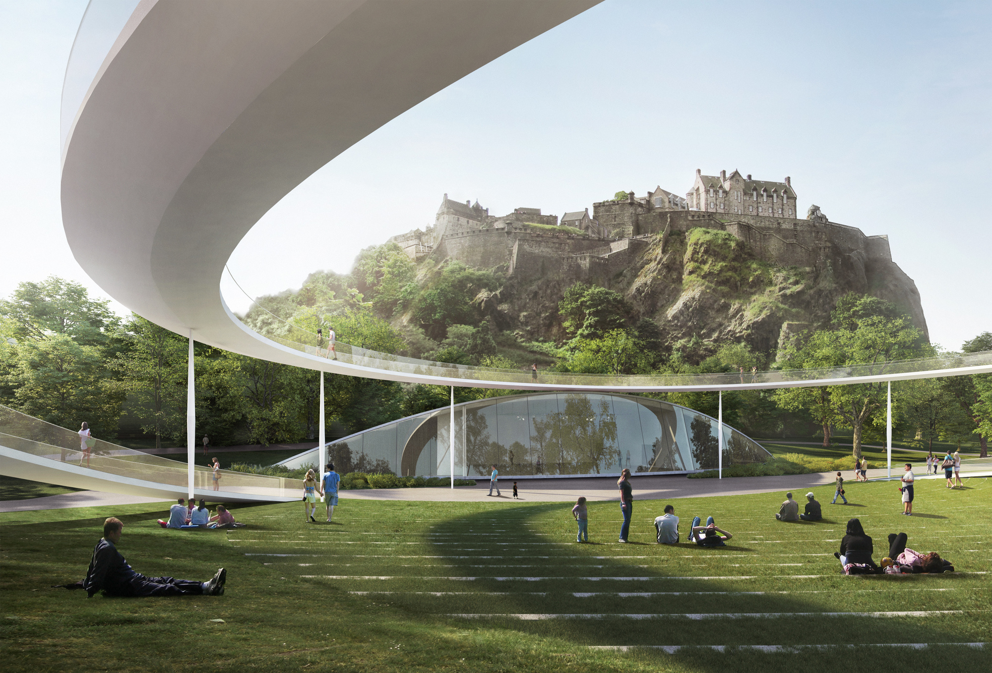 Adjaye Big Sou Fujimoto And 4 Other Teams Reveal