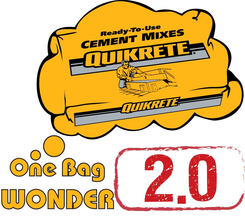Gallery Of Quikrete One Bag Wonder 2 0