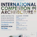 CALL FOR SUBMISSIONS: INTERNATIONAL COMPETITION IN ARCHITECTURE 2017