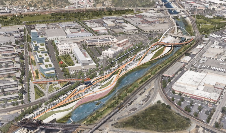 7 Firms Reveal Plans for Los Angeles River Revitalization, From the Los Angeles River Downtown Design Dialogue (City of Los Angeles, Bureau of Engineering). Used by Permission from WSP