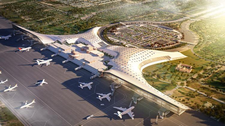 Arquitectos españoles diseñan el nuevo aeropuerto de Lahore en Pakistán, © GilBartolomé Arquitectos