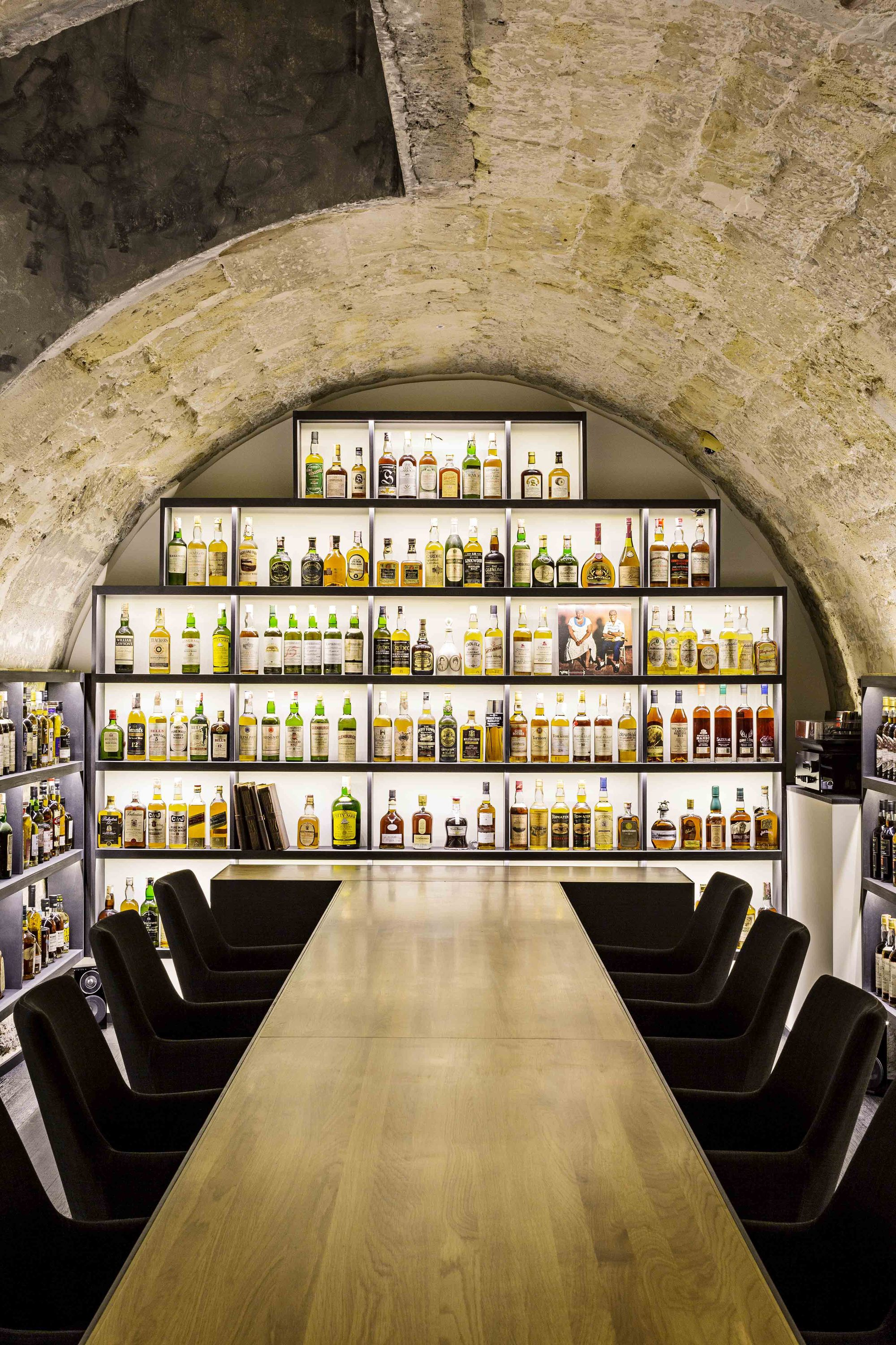 Whisky Bar Jbmn Architectes Archdaily