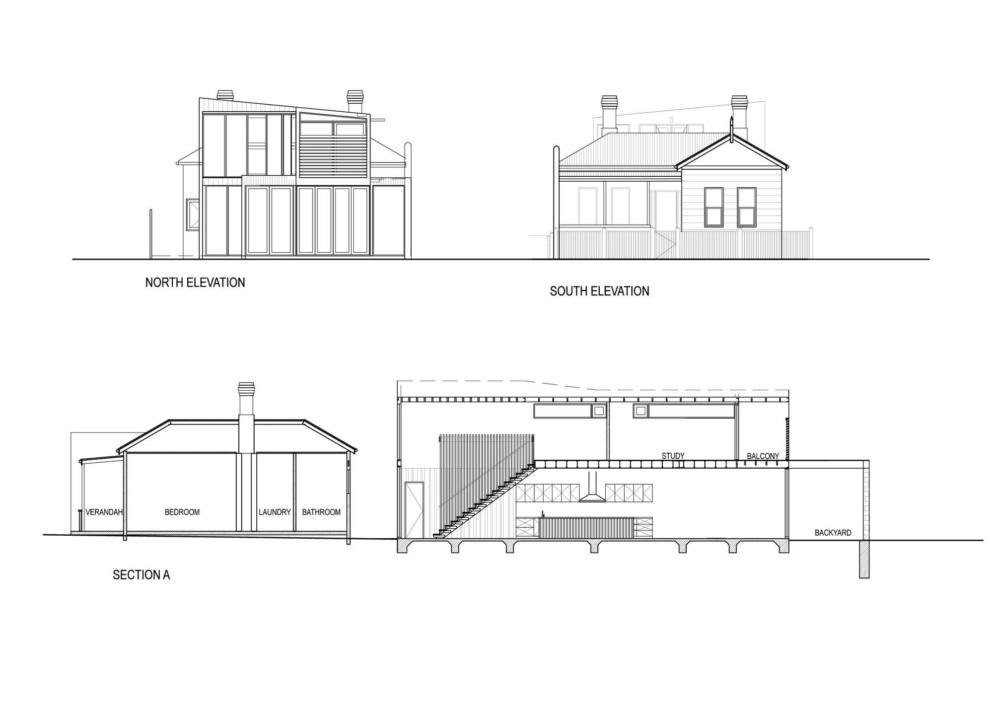 North N Home Plan And Elevation : Gallery of clifton hill house itn architects
