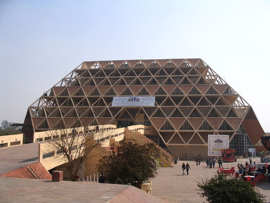 © <a href='https://commons.wikimedia.org/wiki/File:Pragati_Maidan,_Hall_6.JPG'>Wikimedia user Kprateek88</a> licensed under <a href='https://creativecommons.org/licenses/by-sa/3.0/deed.en'>CC BY-SA 3.0</a>
