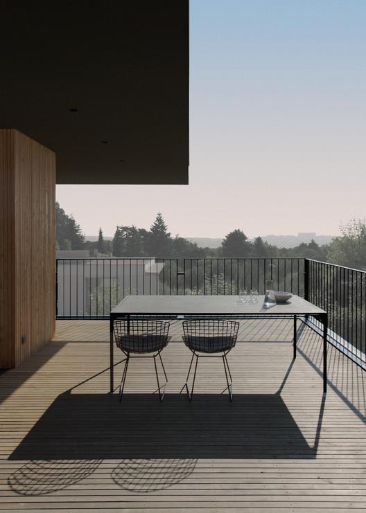 la maison etir e barres coquet archdaily brasil. Black Bedroom Furniture Sets. Home Design Ideas
