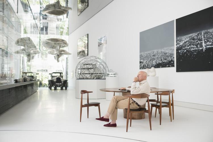 Fundación Norman Foster ofrece refugio para el automóvil de Le Corbusier, © Guillermo Rodríguez